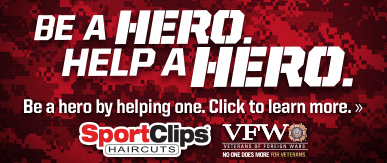 Sport Clips Haircuts of Las Colinas​ Help a Hero Campaign